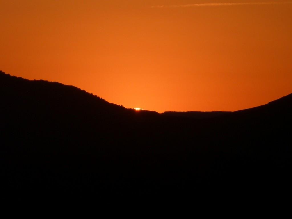 Coucher de soleil Fraïsse