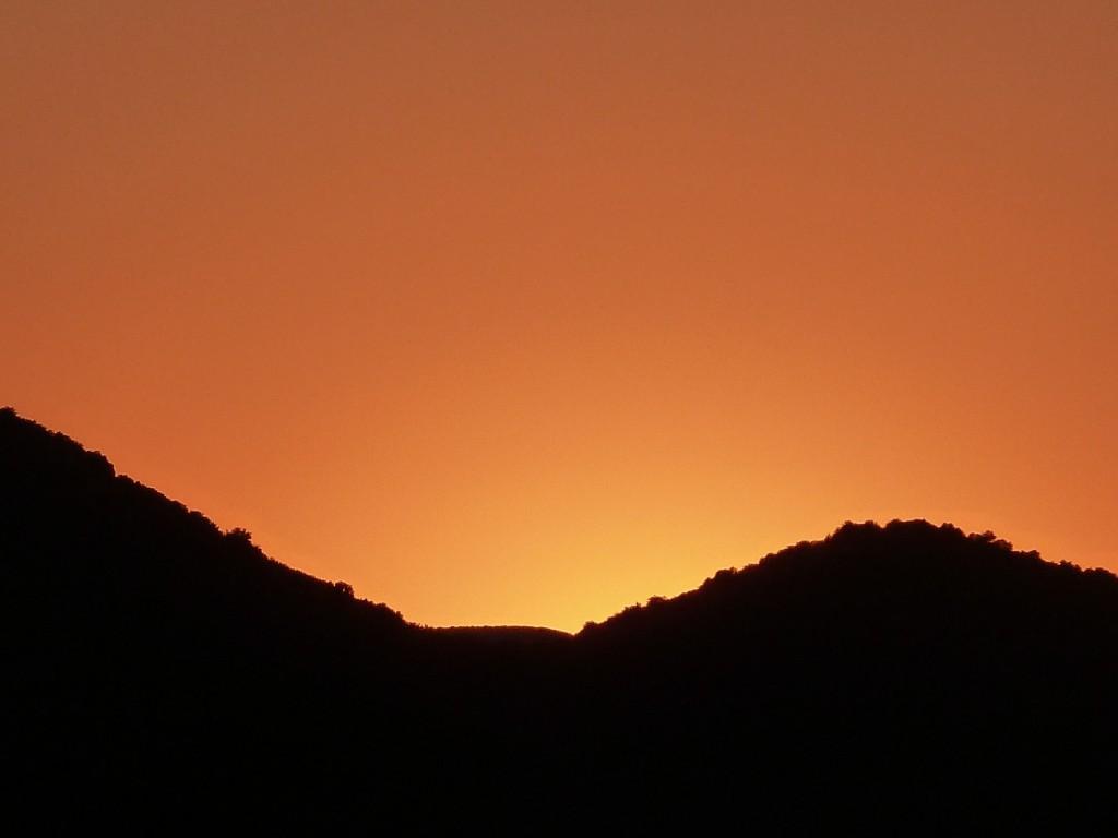 Coucher de soleil Fraisse 3