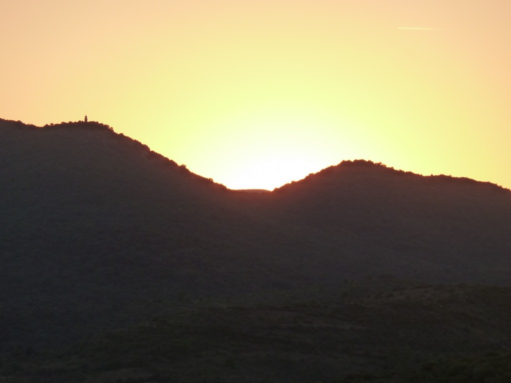 Coucher de soleil Récaoufa 2