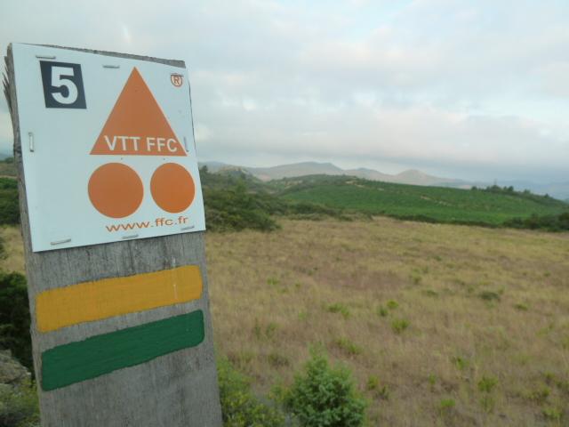Sentiers VTT balisés