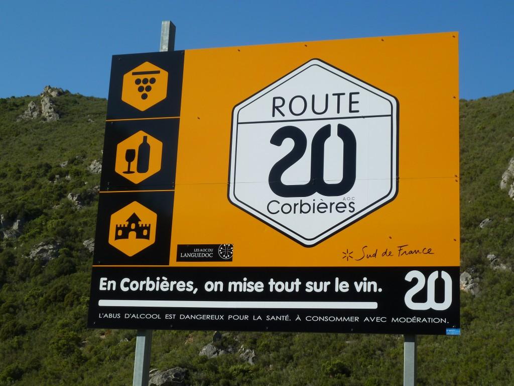 La route des vins des Corbieres